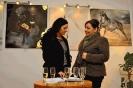 Hartmann Kitty festőművész kiállításának megnyitója