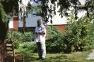 Képes beszámoló Gobányi Sándor és fia éremkiállításának falunapi megnyitójáról_5