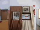 Szűcs Tibor kiállítása a sportcsarnokban