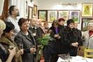 Tálosné Violányi Marianna amatőr festő festménykiállítása a vendégházban